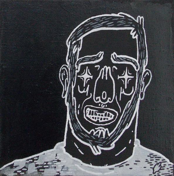 Новикс, портрет, Латвия, Корженевский