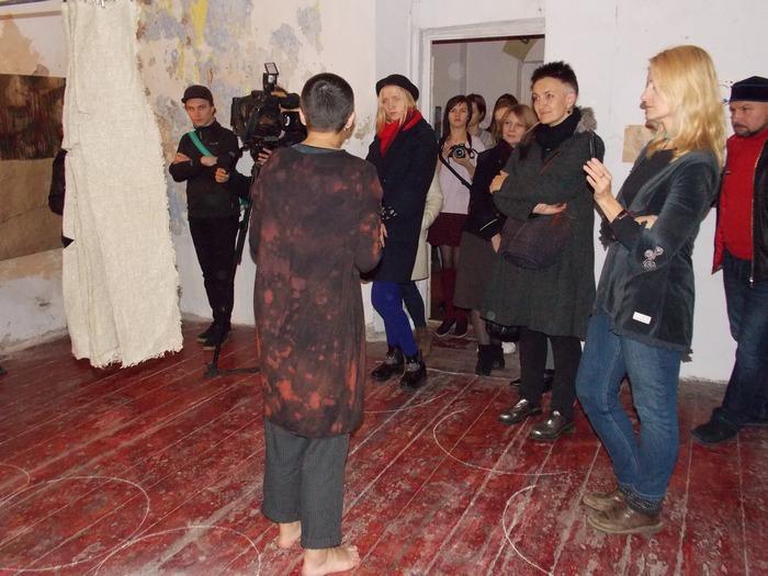 Ганчарова, выставка, Витебск, перформанс