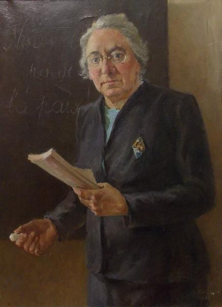 Залите, Латвия, живопись, портрет, педагог, учительница, Корженевский