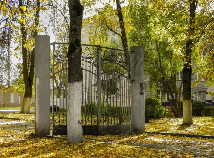 Перед этими воротами заклинание «сим-сим, откройся» не поможет. Фото Светланы Васильевой