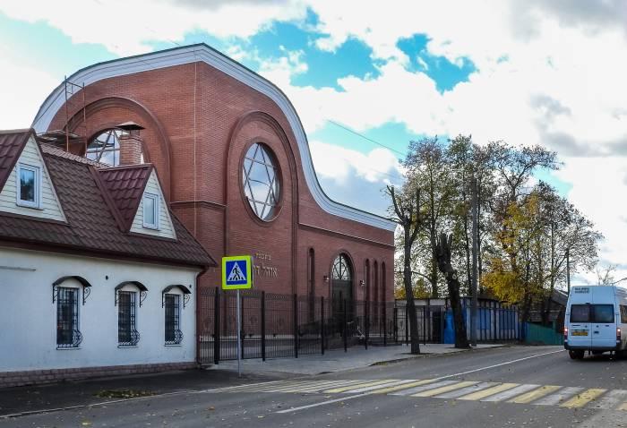«Шатер Давида» – новая синагога в Витебске. Фото Светланы Васильевой