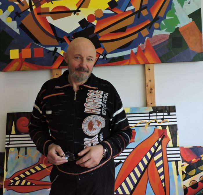 Слепов, художник, памятник Ольге