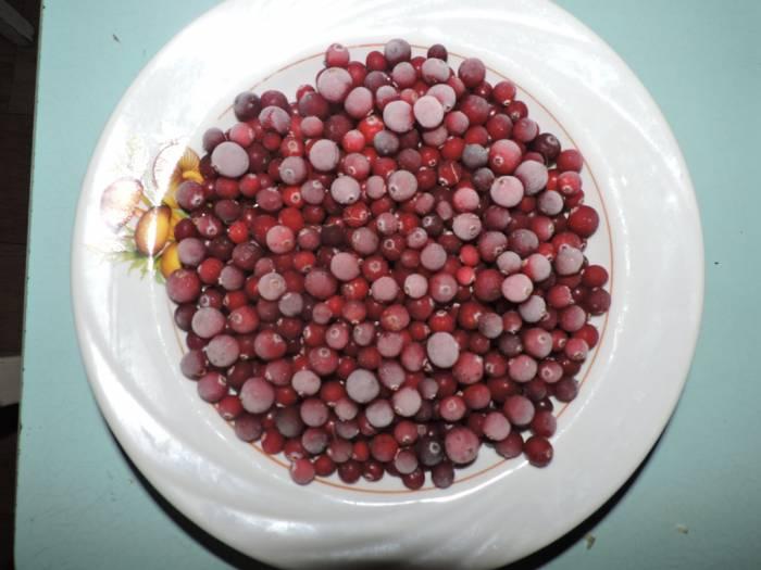 ягода, клюква