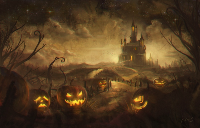 готика, Хэллоуин, мистицизм, Корженевский