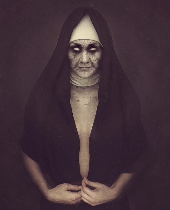 Мертвая монахиня, Хеллоуин. СС0