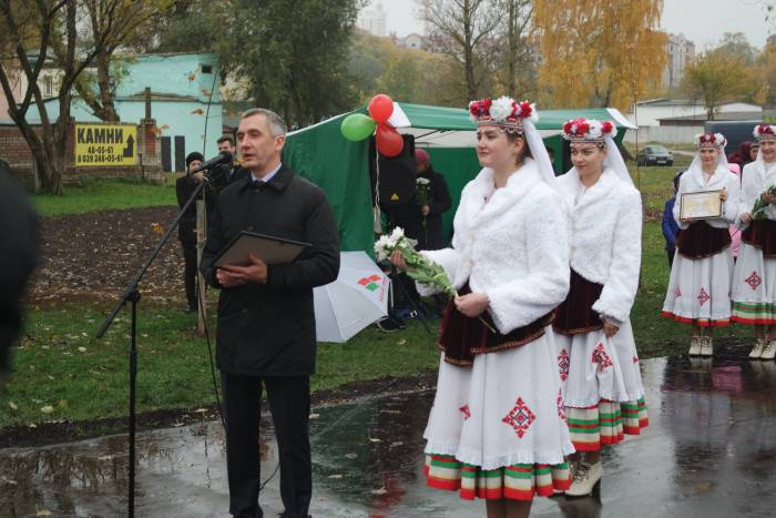 Николай Орлов открывает новый парк. Фото Ольга Витебская