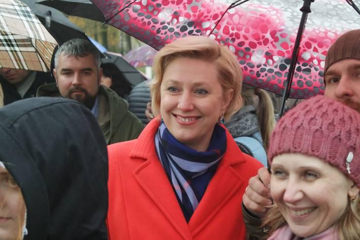 Директор СШ №18 ирина Остапенко. Фото Ольга Витебская