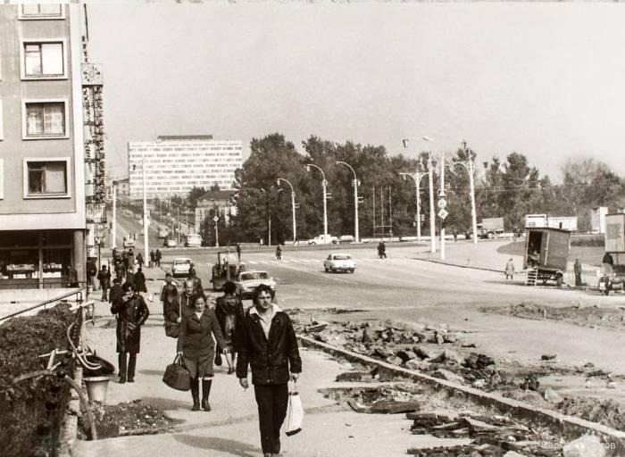 Улица Ленина. Фото Константина Гусакова