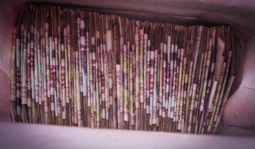 А еще совсем недавно кошелек мог выглядеть примерно так. Фото Анастасии Вереск