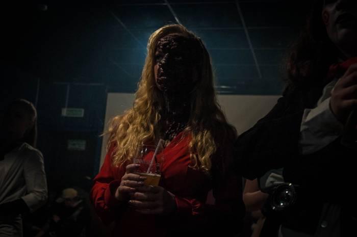 Самый пугающий образ Хеллоуина. Фото Анастасии Вереск