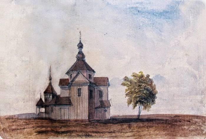 Так называемая Церковь Черной Троицы. Рис. Д. Струкова