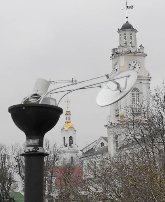 В Витебске вандалы «рвали» фонари