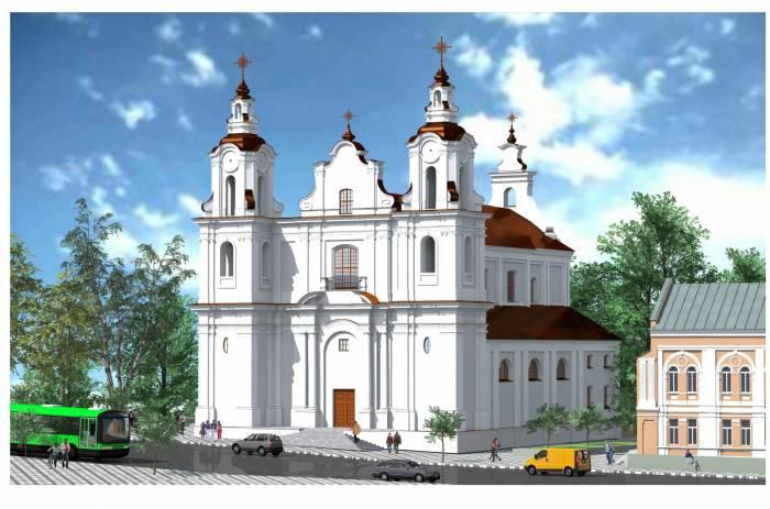 Для восстановления старинного костела в Витебске требуется около 2 миллионов 200 тысяч долларов