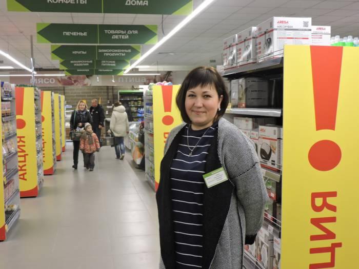 """Домашний"", супермаркет, Лепель"