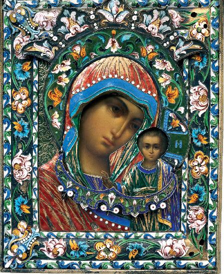 Казанская (живописный образ). Фото: pravmir.ru
