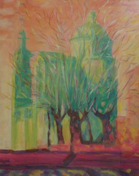 Медвецкий, воскрешение, живопись, храм, христианство, Корженевский