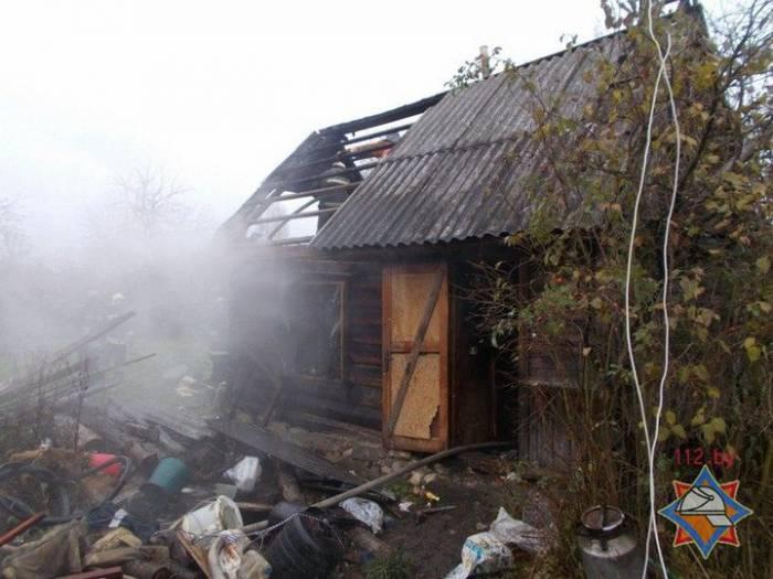 пожар Полоцк