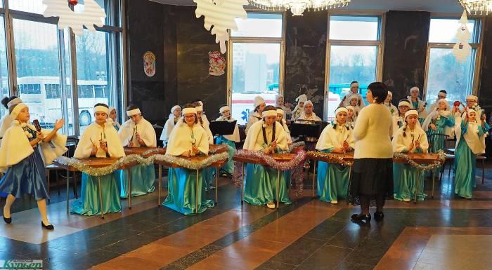Губернаторская елка в Витебске собрала детей со всего Придвинского края