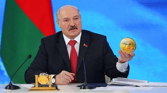 Лукашенко, биткоин, талер, Корженевский