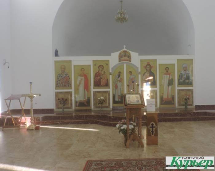 витебск, храм, Билево
