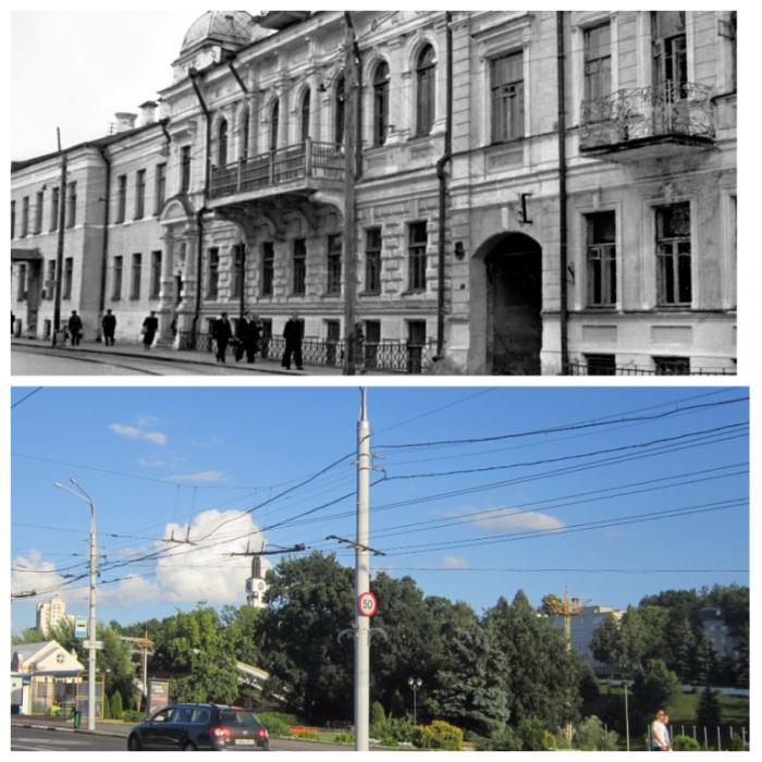Один и тот же ракурс. Витебск 1950-х и 2017