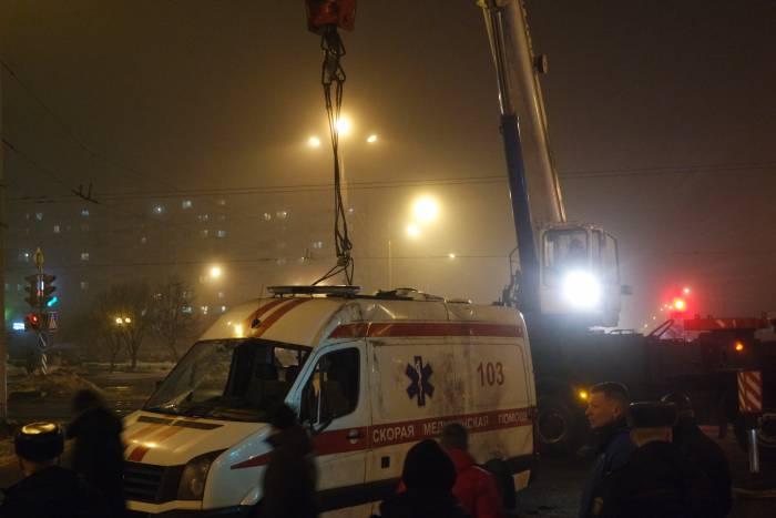 ДТП скорая строителей