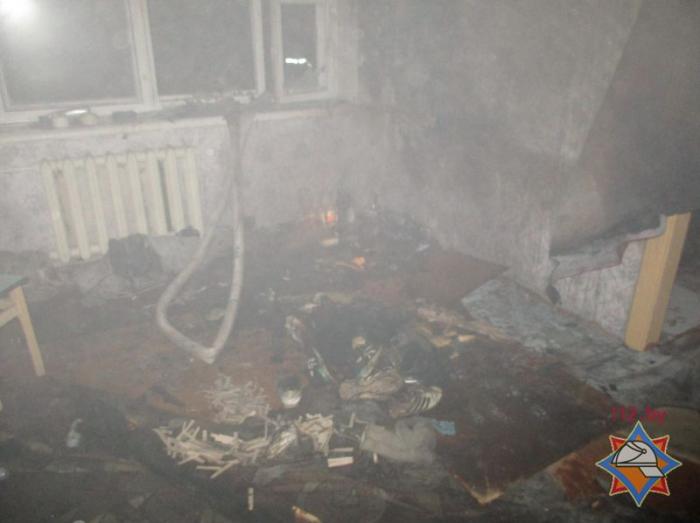пожар Браслав