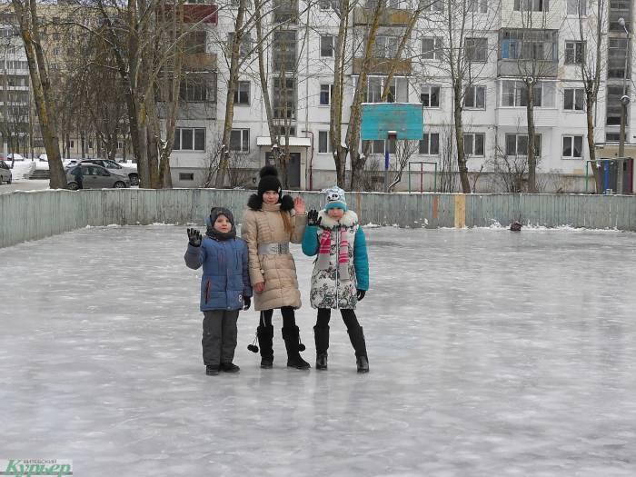39 мест в Витебске, где можно покататься на коньках