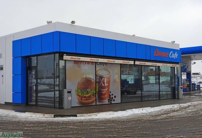«Пацанские разборки» в Витебске на автозаправке «Газпромнефть»