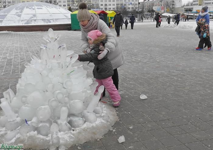День снега в Витебске побил «рекорд» времени