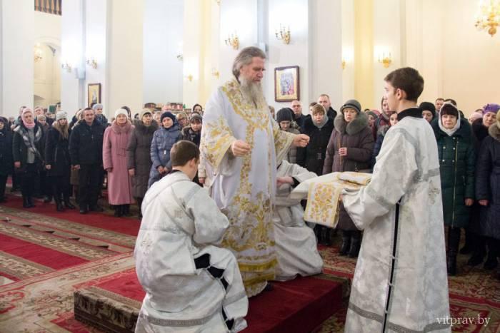 Как Витебская епархия встретила Христово Рождество