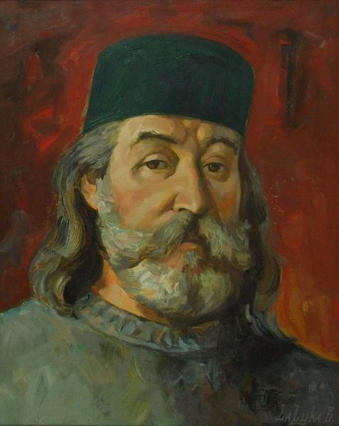 Лалыко, автопортрет, живопись, Корженевский