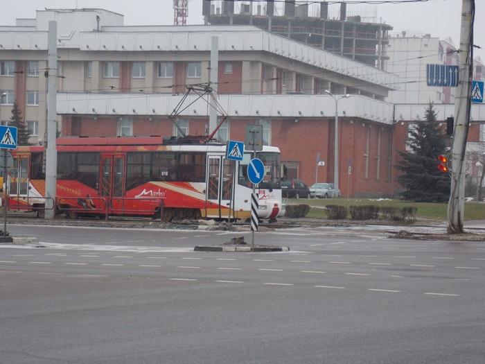 Фитебск, трамвай, райисполком
