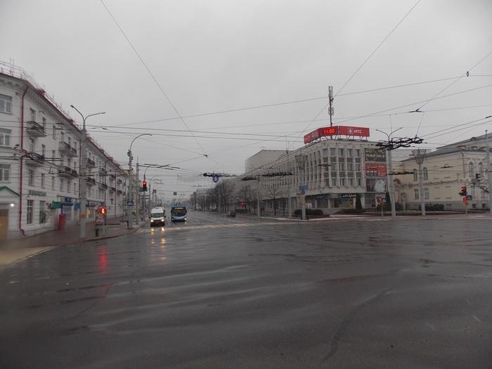 Витебск, перекрёсток