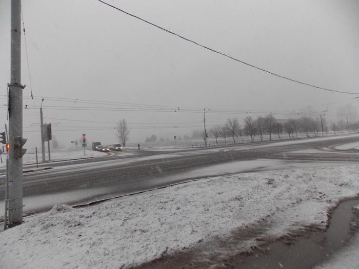 перекрёсток, Витебск, пустырь