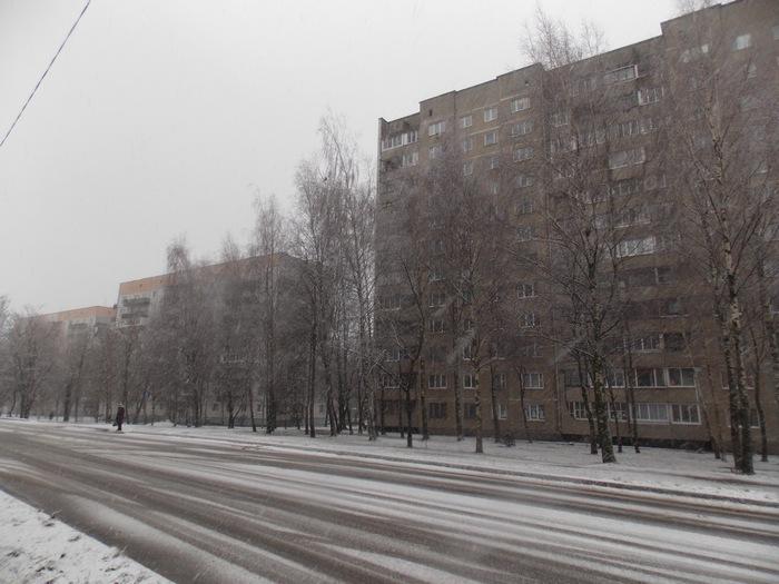 Витебск, снег