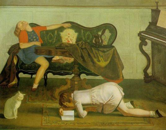Балтус, живопись, эротизм, Корженевский