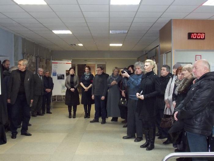 Витебск, панихида, Климович, худграф