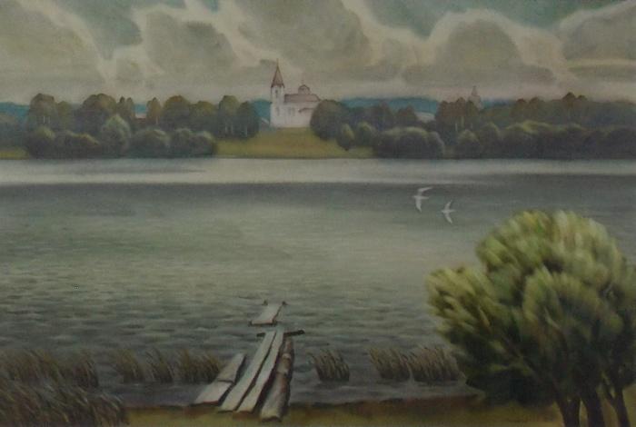 Танкович, озеро, Белое, храм, Корженевский