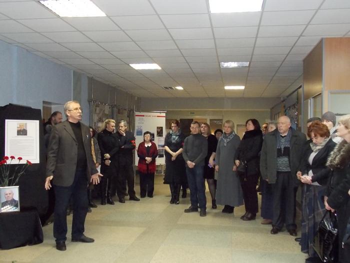 Исаков, Климович, худграф, Витебск, траур, панихида