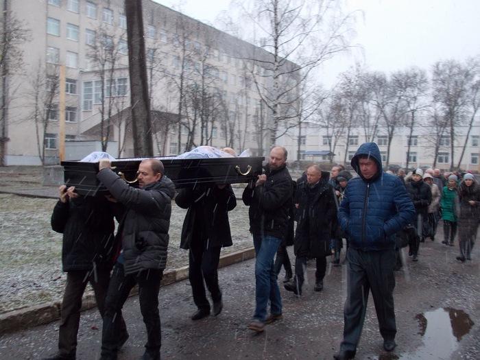 Витебск, траур, процессия, похороны