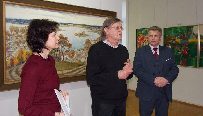 Вольнов, Витебск, выставка, живопись