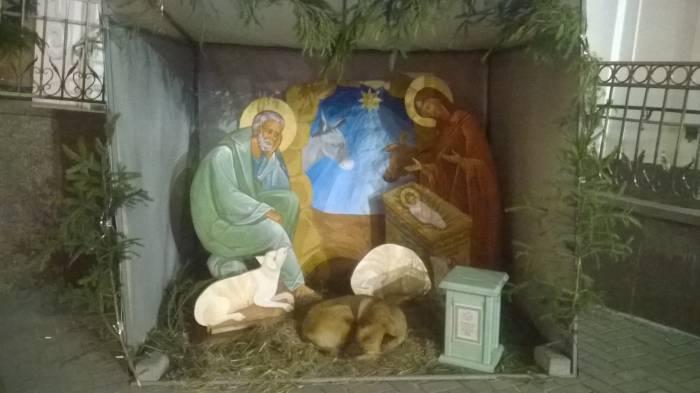 Рождественская идиллия. А что не так?