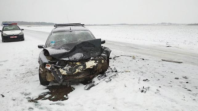 ДТП Авария Глубокский