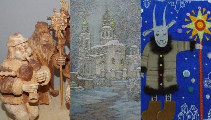 Коляды, Витебск, Беларусь, колядовщики