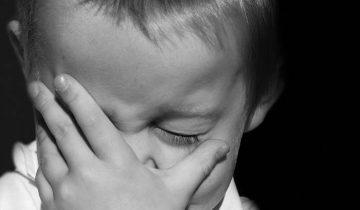 ребенок, слезы, плач