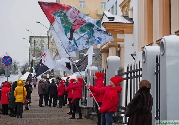 Шагал, Малевич и УНОВИС: в Витебске открыли уникальный музей