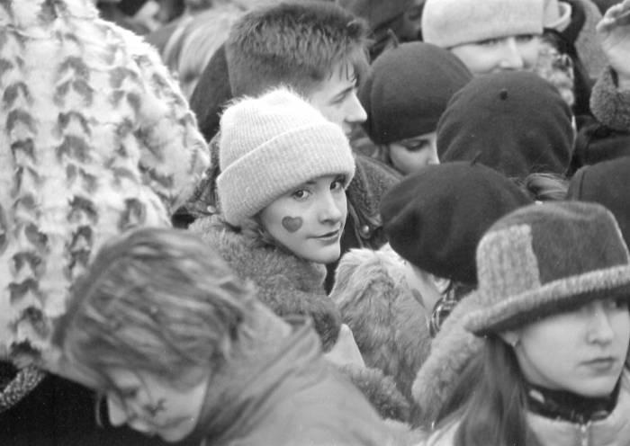Вы не поверите, но так праздновали День Святого Валентина в Витебске в 2000 году