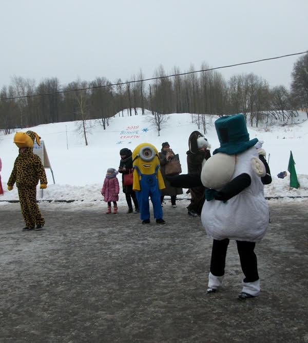 В субботу в Витебске в пойме Витьбы прошли «Зимние старты-2018»