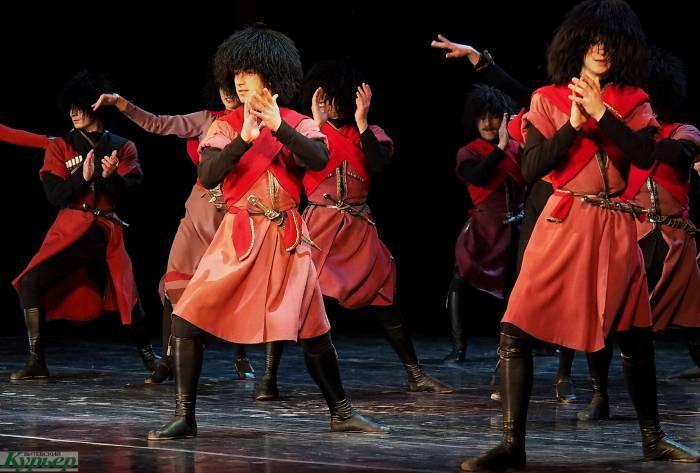 Грузинский балет в Витебске: самые яркие моменты выступления